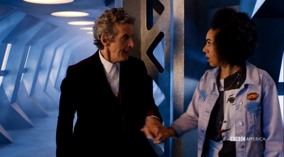 Doctor Who: Peter Capaldi and Pearl Mackie