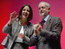 Kezia Dugdale with UK Labour Leader Jeremy Corbyn (Getty Images)