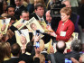 Nicola Sturgeon at the party's manifesto launch (Getty Images)