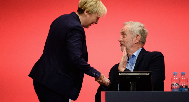 Angela Eagle is apparently being lined up as the next Labour leader (LEON NEAL/AFP/Getty Images