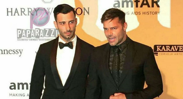 Ricky martin steps onto the red carpet with new boyfriend pinknews ricky martin and new beau jwan yosef instagram m4hsunfo