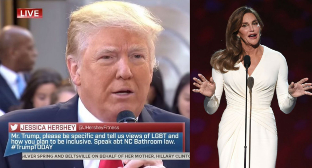 Trump blasted the new anti-trans laws (NBC/Getty Images)