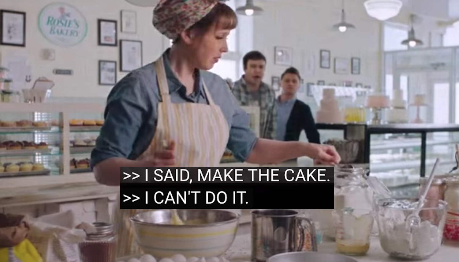 Gays asked her to bake a wedding cake so she set out to prove God is not gay… (VIDEO)