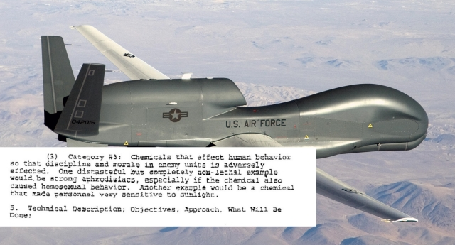 The US Air Force actually considered the plan