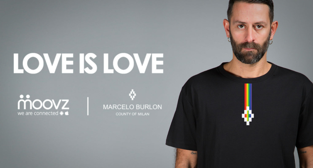 Moovz backed the Love is Love campaign