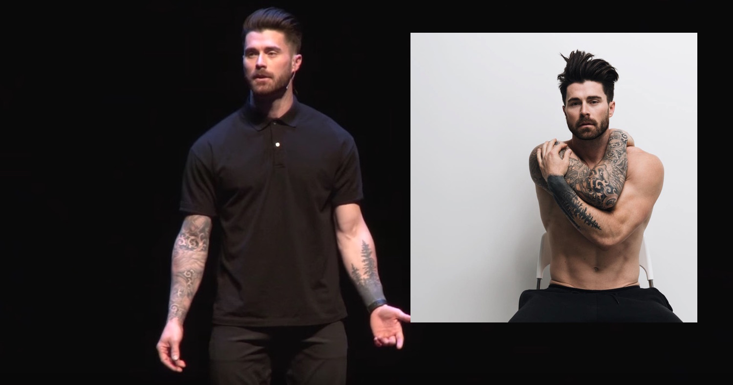 Watch gay fitness star Kyle Krieger bravely open up about addiction and sexual orientation