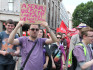 Asexual marchers at Pride in London (Photo by Nick Duffy)