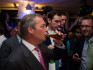 NIgel Farage joked that he would tell Trump 'don't touch' Theresa May