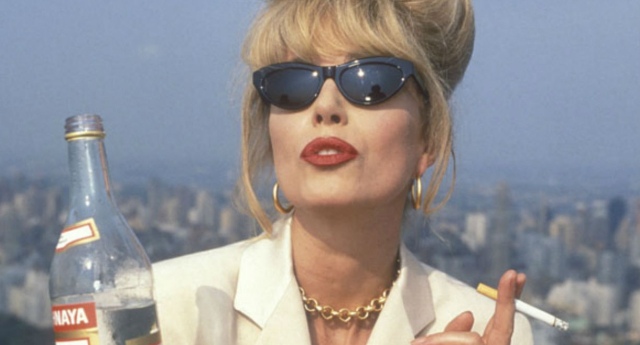Ab Fab's Patsy and Edina star in advertising campaign