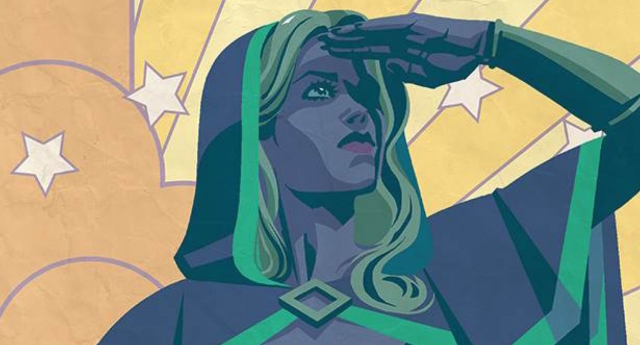 Chalice will make her comic book debut this year