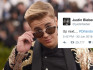 Justin Bieber has been criticised for using the hashtag to promote his tour (Image: getty - under licence)