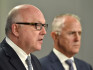 The Attorney General said the 'only way' to introduce same-sex marriage in Australia is through a plebiscite