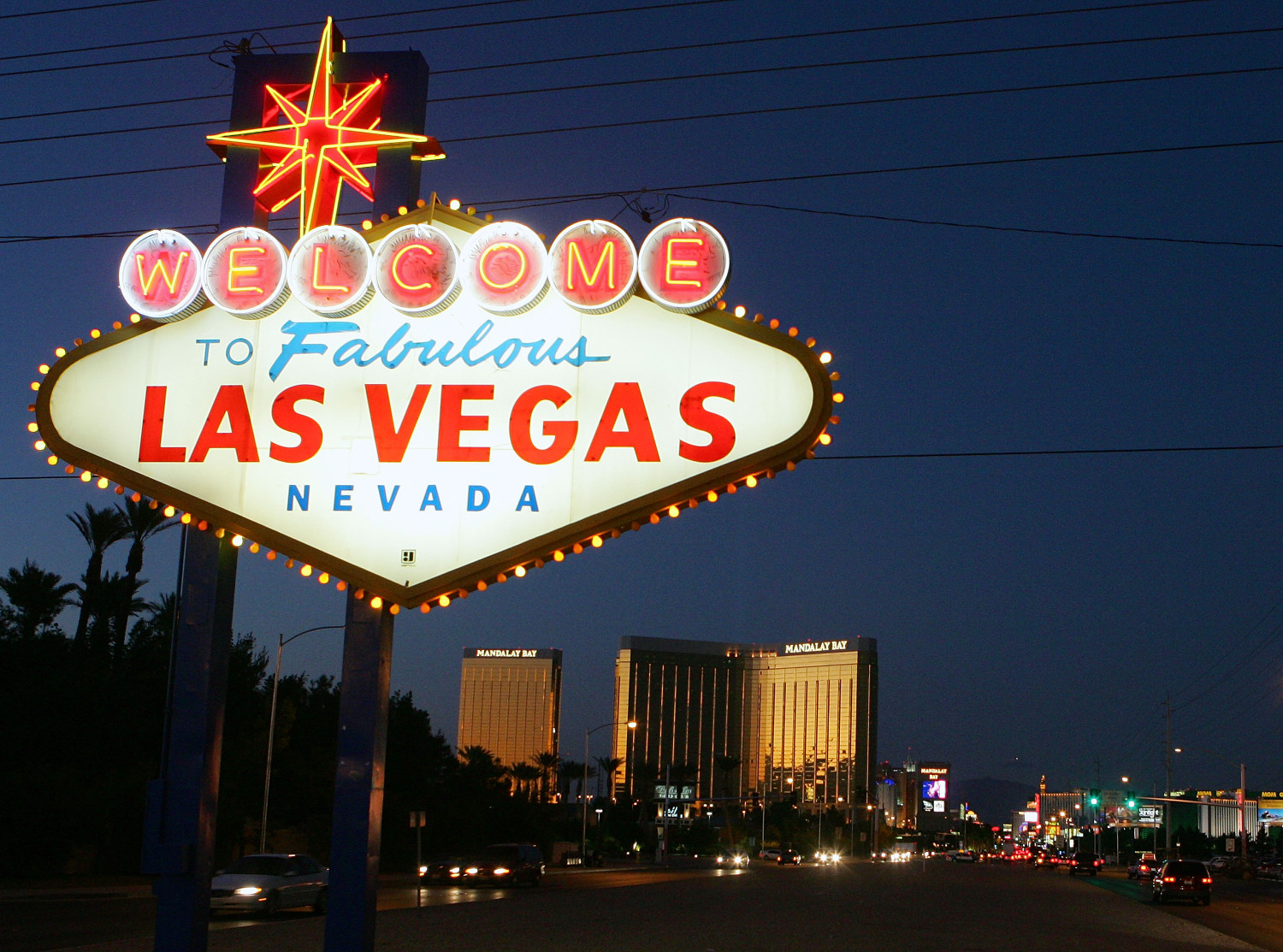 The famous Las Vegas sign (Getty Images)