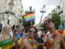 Stockholm Pride parade (Photo by ERIK NYLANDER/AFP/Getty Images)