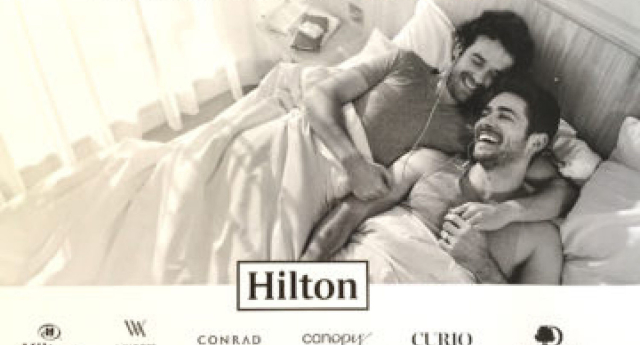 The AFA attacked Hilton for the advert