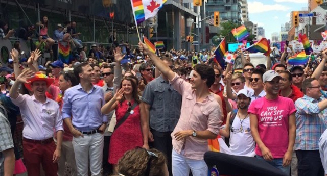 Justin Trudeau is the first PM to attend Toronto Pride (Twitter)
