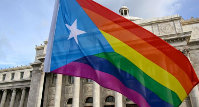 """Puerto Rico's first LGBT monument reads: """"Amor es amor, es amor, es amor..."""""""