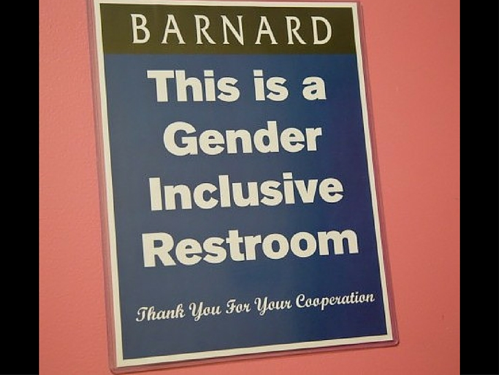 19 Brilliantly Fabulous Gender Neutral Toilet Signs