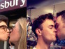 The kiss-in took place in Hackney Sainsbury's (Getty Images/Instagram)