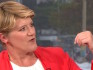 Clare Balding appeared on the BBC without her wedding ring