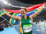 Sunette Viljoen won silver at the Olympics despite facing physical abuse at home (Image: Getty - under licence)