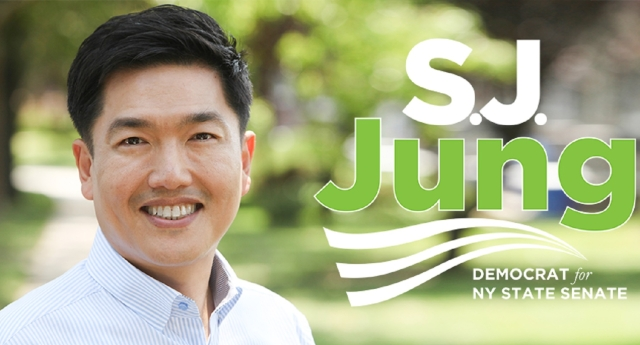 SJ Jung is standing in the Democratic Primary