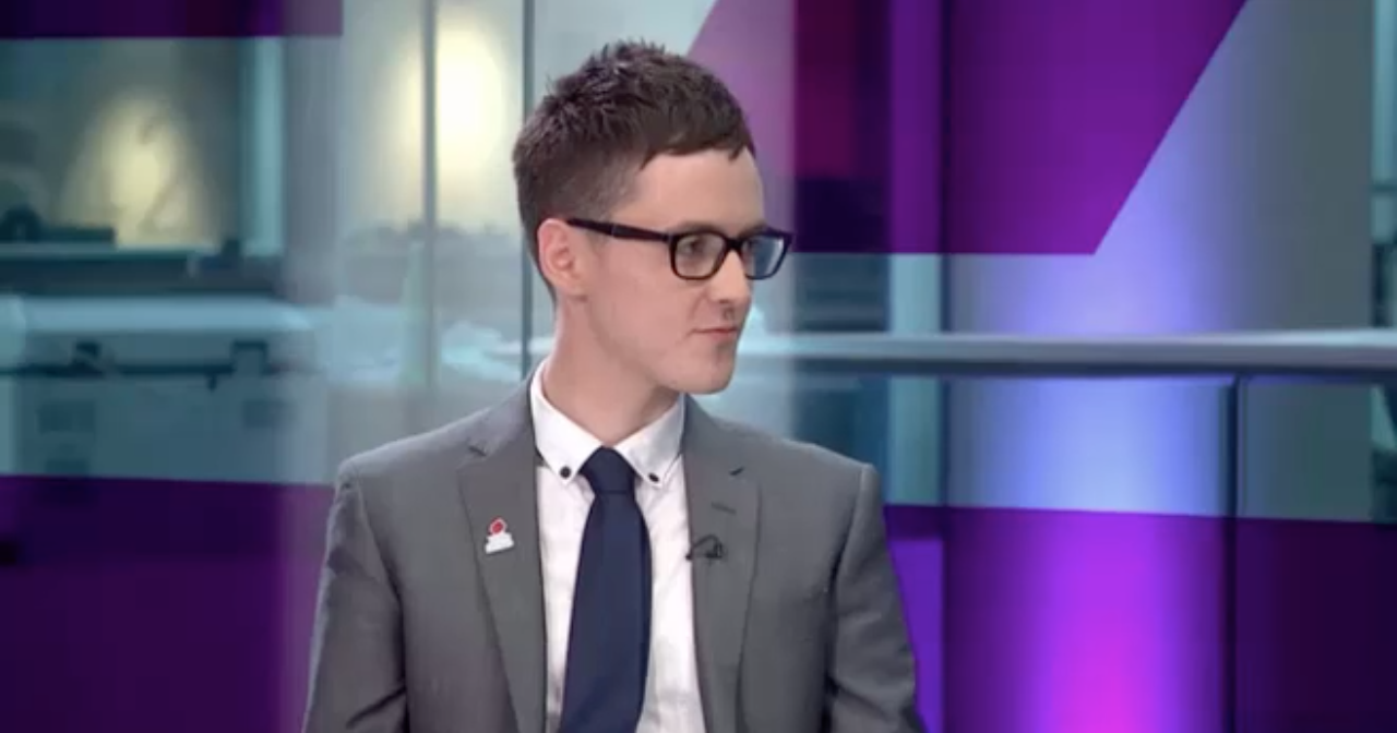 Darren Grimes was given over £600K by Vote Leave (screenshot)