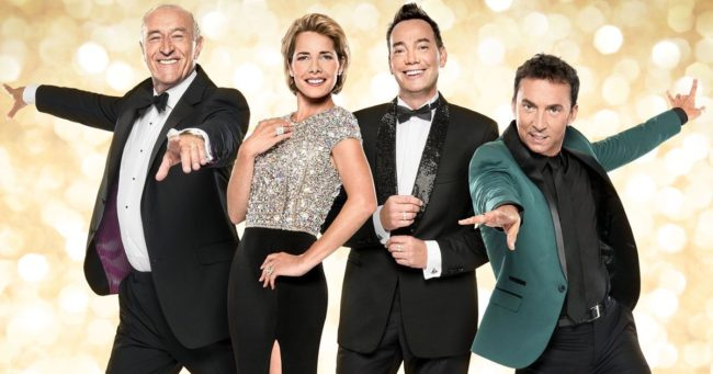 Strictly Come Dancing judging lineup