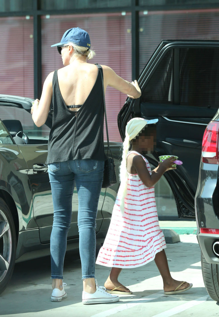 Charlize Theron Labelled Bad Parent For Letting Son