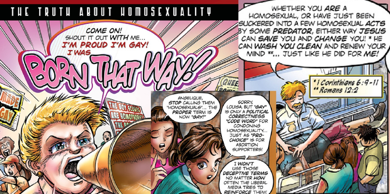 Christian Groups Are Handing Out These Creepy Gay Cure Comics To Children  C2 B7 Pinknews