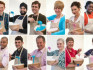 This year's GBBO contestants (BBC/Twitter)