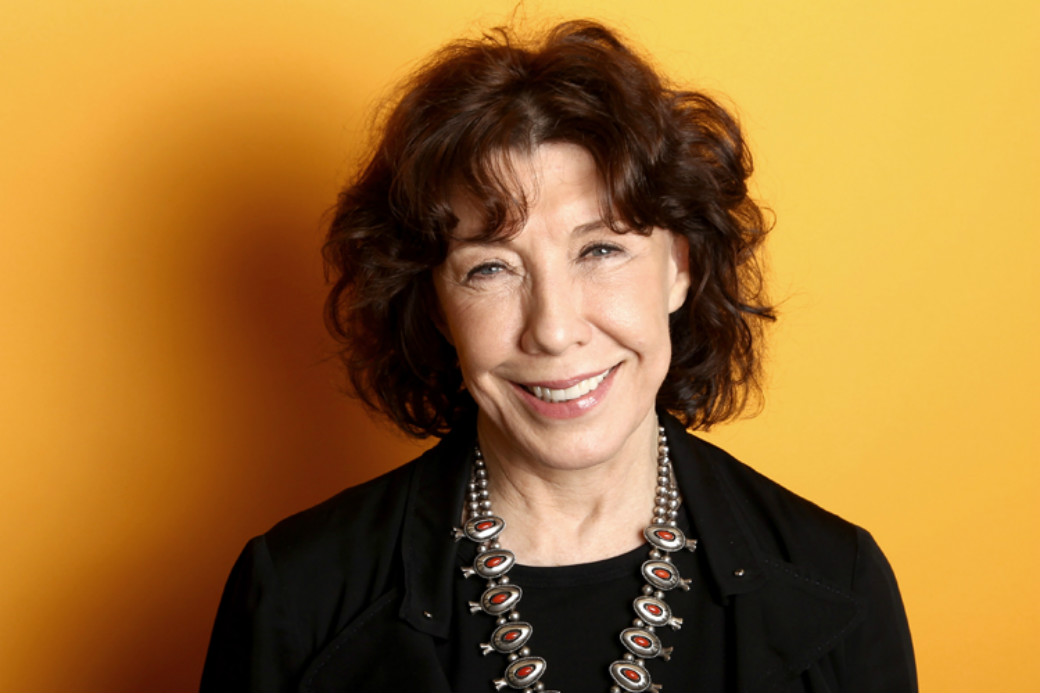 Lily Tomlin revealed the news (Getty)