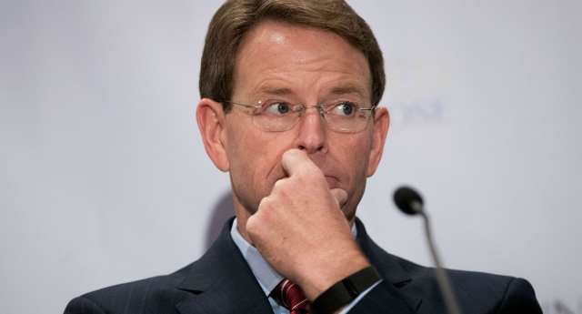 Tony Perkins claims homosexuality will bring on the end of the world (Getty Images)