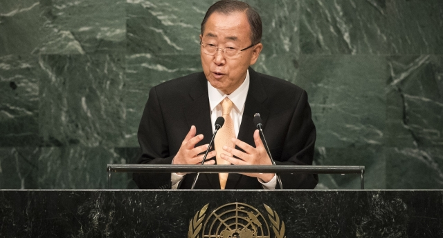 UN chief hits out at 'weak' opponents of LGBT rights