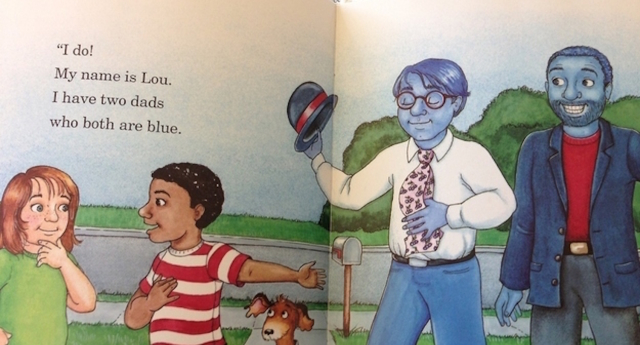 The book from 1994 dealt with same-sex parenting in the best way! (Image: Tumblr)