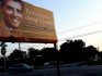 The billboard advocates for 'gay cure' therapy