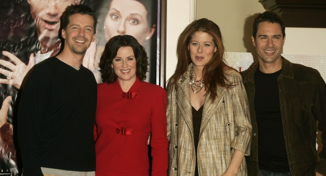 Will and Grace stars reunite (Instagram)