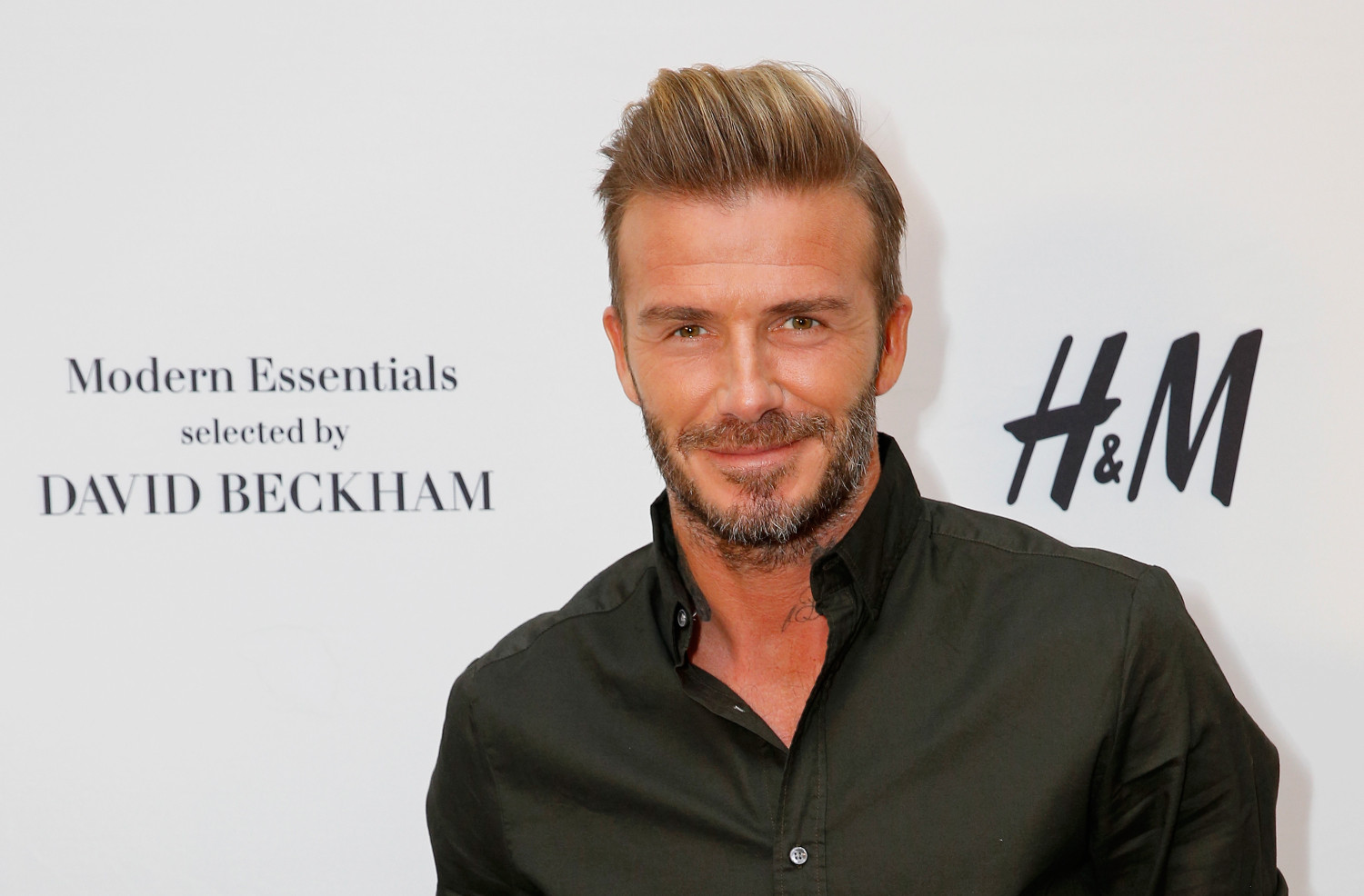 David Beckham (Rachel Murray/Getty Images for H&M)