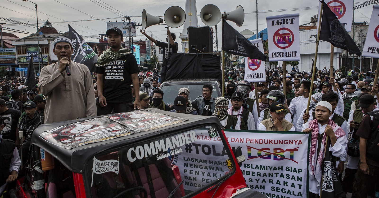 Anti-LGBT Sentiments Rise In Indonesia