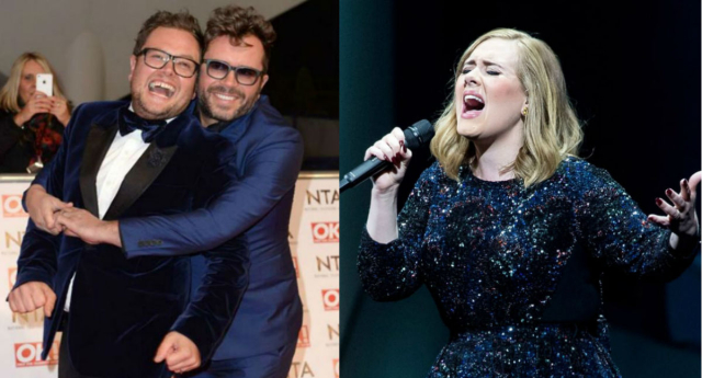 Alan Carr is engaged!! (Getty Images)