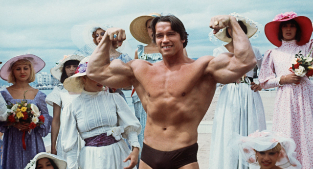 Arnold Schwarzenegger rose to fame as a bodybuilder (Getty Images)