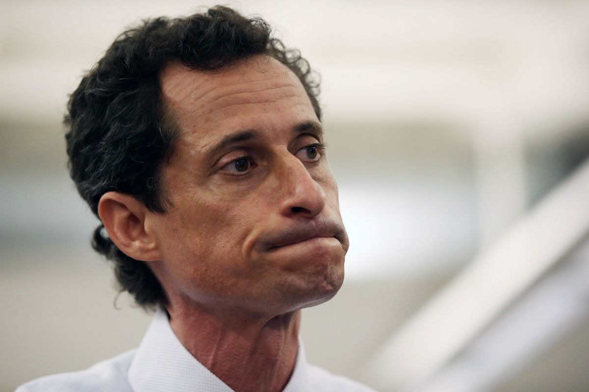 Anthony Weiner (Photo by John Moore/Getty Images)