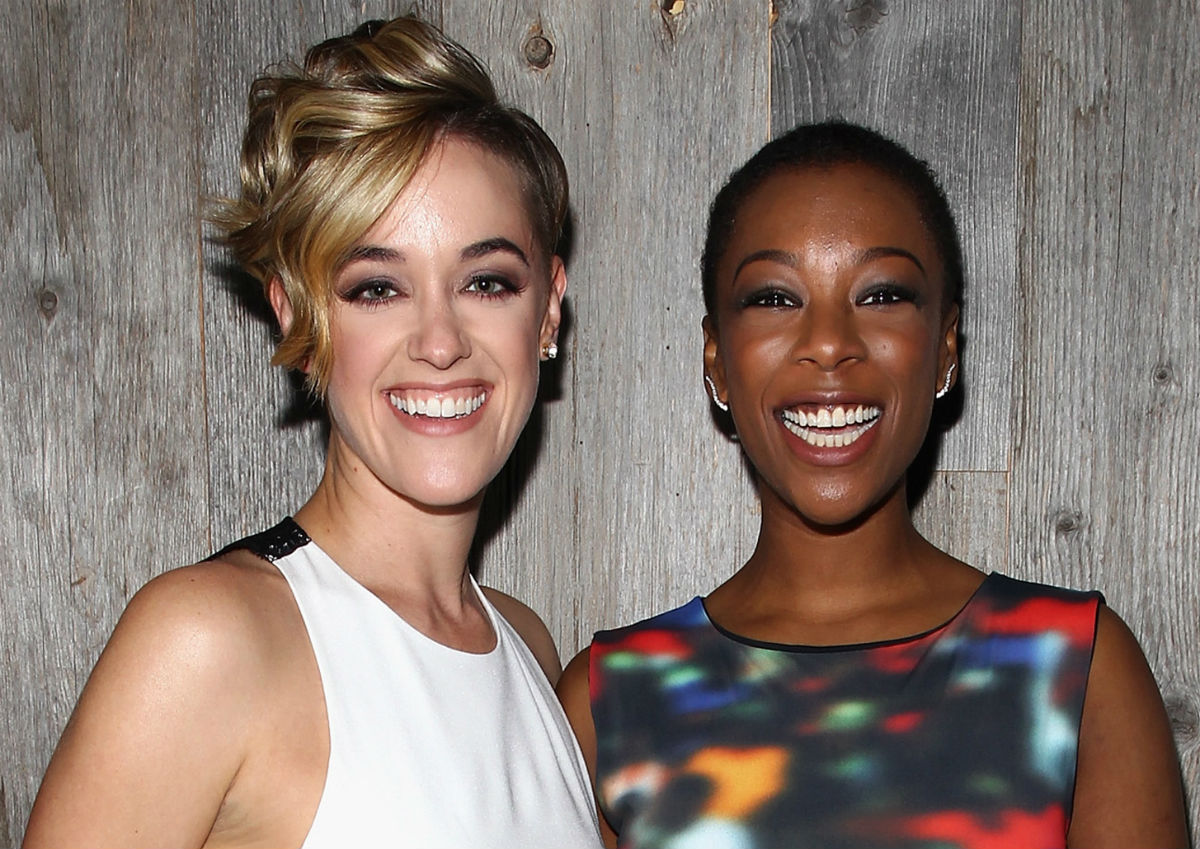 """lauren morelli samira wiley dating Actress samira wiley has opened up about falling in love with her wife, screenwriter lauren morelli, on the set of orange is the new black in an interview with bust magazine, wiley said: """"i was really attracted to lauren's mind first before i met lauren the person."""