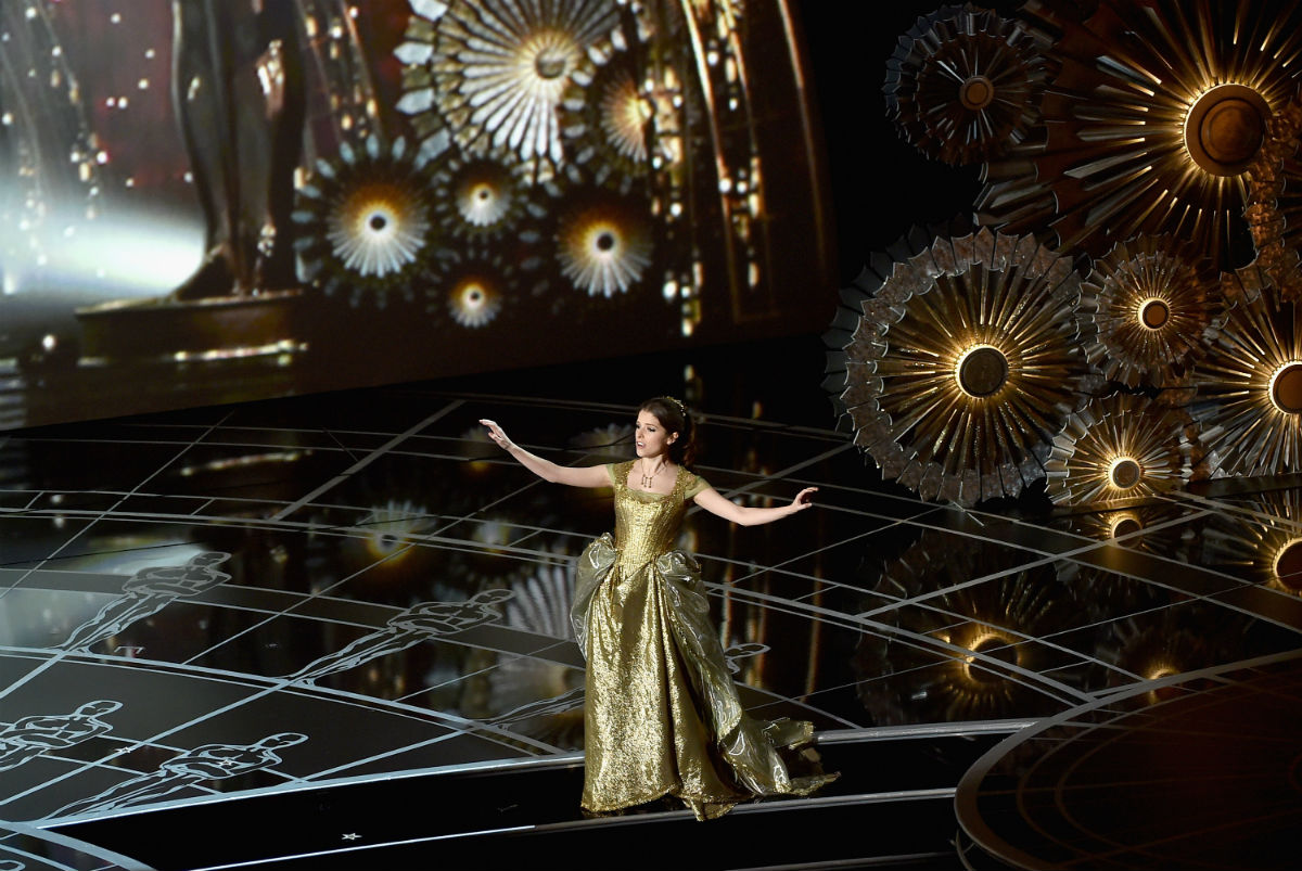 Anna Kendrick performing at the 2015 Academy Awards (Photo by Kevin Winter/Getty Images)