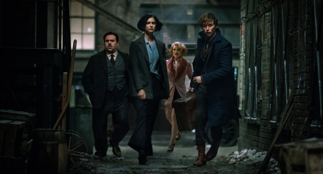 A scene from Fantastic Beasts and Where to Find Them (Warner Bros)