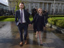 Daniel and Amy McArthur at the Court of Appeal hearing (Charles McQuillan/Getty Images)