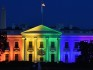 The White House lit up with rainbow colours in 2015 (MLADEN ANTONOV/AFP/Getty Images)