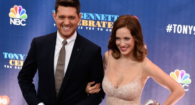 Michael buble my wife thought i was gay when we first met pinknews photo by matthew eismangetty images m4hsunfo