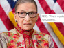 Ruth Bader Ginsburg appears to have 'dissented' Trump's Presidency