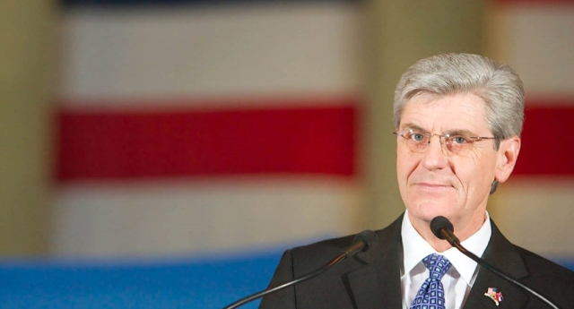Governor Phil Bryant continues to wage war on the LGBT community (Getty)